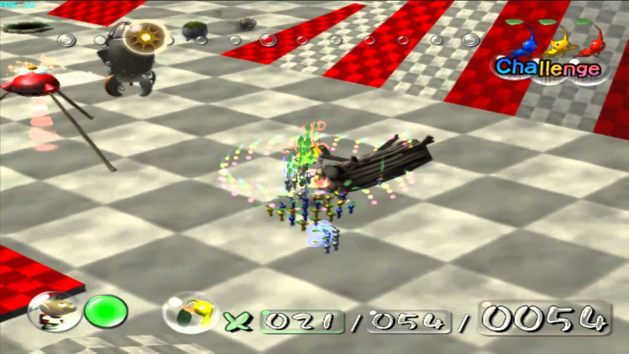 Pikmin Hack Level Testmap Found Unused Beta Enemy 4 Youtube