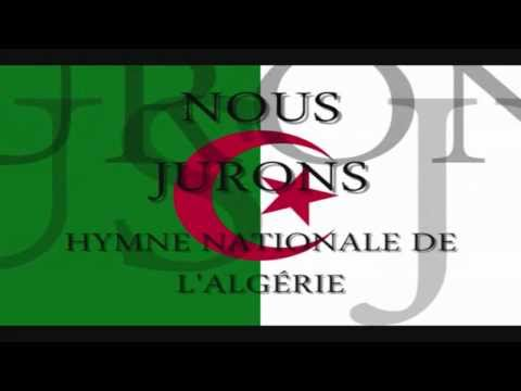 Hymne Algerie + Paroles
