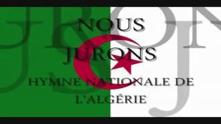 Repeat youtube video Hymne Algerie + Paroles