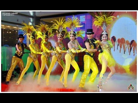 Alcazar Cabaret Pattaya 2014 งานนอก Vive le swing