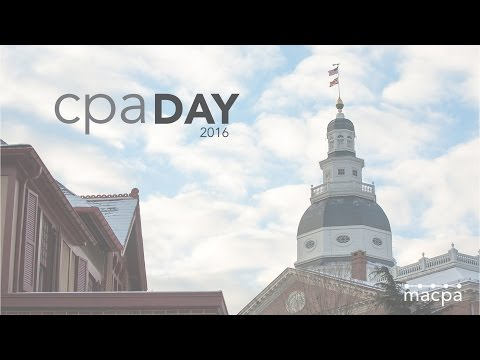 CPA Day 2016 | MACPA Advocates for Maryland CPAs in Annapolis