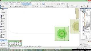 Part 5 - Wall with customized paint - ArchiCAD 18 tutorial 2015 A to Z ( Full HD)