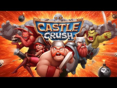 Castle Crush: Epic Strategy Game - Fun Games For Free Level 1-5 Walkthrough