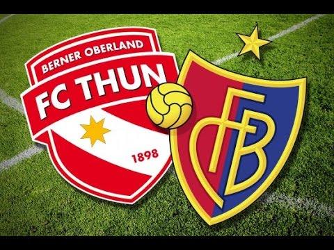 Fc Thun Vs Fc Basel 12 08 15 Highlights Youtube