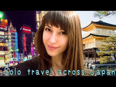 Travel Across Japan Solo GoPro