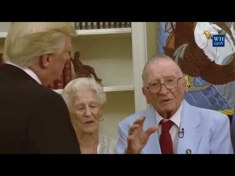 AMAZING: USS Arizona Survivor Just Delivered This Emotional Response To President Trump!!