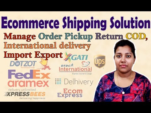 Ecommerce Shipping Solutions for Seller India | Logistic courier service for ecommerce