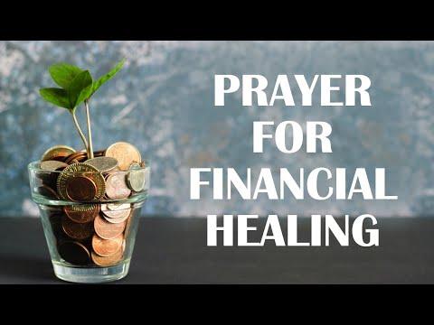 Prayer for Financial Healing