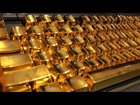SOLID GOLD KEYBOARD 💰