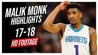 Hornets SG Malik Monk 2017-2018 Season Highlights ᴴᴰ