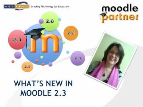 Moodle 2 3 Overview