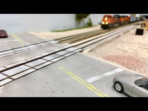 How to Make a Road in HO Scale – Crawford Scenery Episode 3