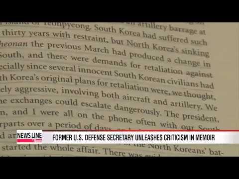 Former U.S. defense secretary Gates unleashes criticism in memoir