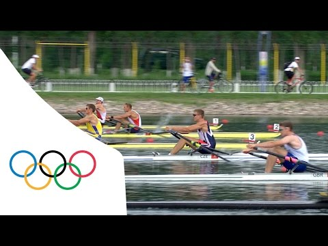 Olaf Tufte wins Men's Single Sculls final | Beijing 2008