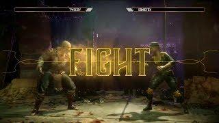 MK11: Exhibition Match SonicFox Vs Tweedy (Sonya Vs Baraka Gameplay)