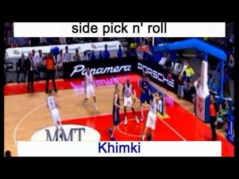 Side Pick N' Roll Offense - Euroleague