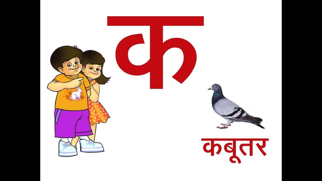 Learn 36 Hindi Varnamala Letters  Consonent With Pictures