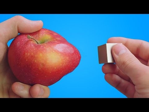 WHAT HAPPENS WHEN APPLE MEETS MAGNET