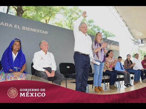 Entrega de #ProgramasBienestar en Rioverde, San Luis Potosí | Más para quienes menos tienen