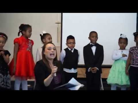 Mansion Day School Kindergarten Class Speech