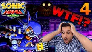 Let's Procrastinate With Sonic Mania Plus - Part 4 METAL SONIC!?!