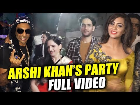 Arshi Khan's FULL NIGHT Party | Vikas Gupta, Sambhavna Seth | Bigg Boss 11 Party