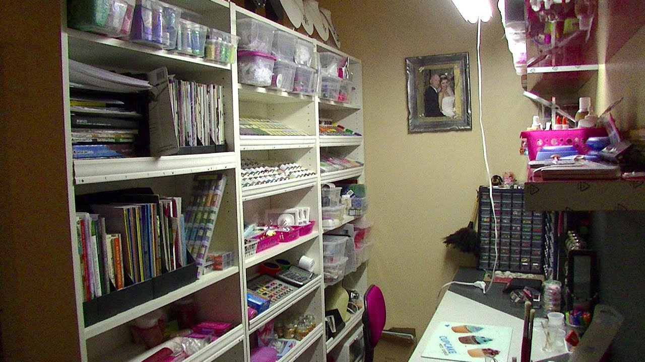 My new craft jewelry making room youtube for The make room
