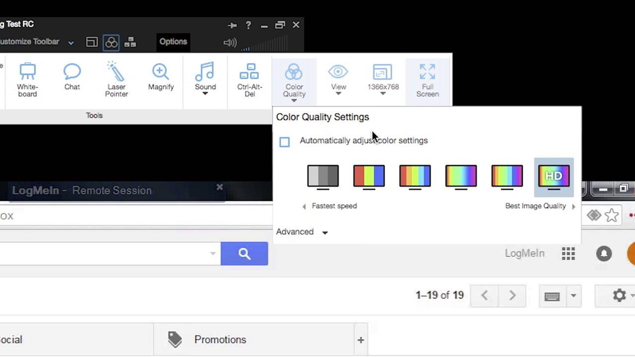 logmein pro remote control toolbar youtube