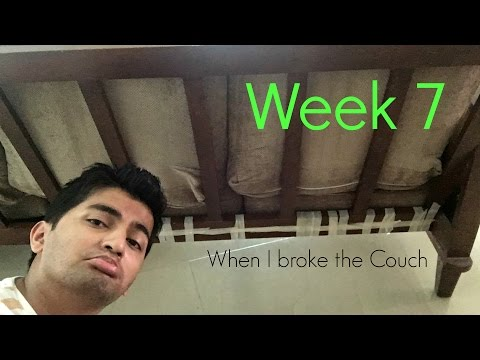 I broke the couch || Week 7 || Finally Jobless VLOGs