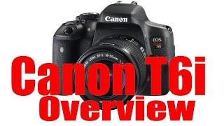 Canon Rebel T6i & 750D Overview Training Tutorial(For more, SUBSCRIBE and like http://fb.com/NorthrupPhotography TABLE OF CONTENTS/VIDEO INDEX: 00:51 Lens, Battery, Memory Card 03:27 Ports 04:53 ..., 2015-08-15T22:59:37.000Z)