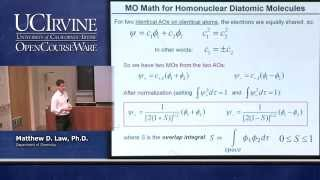 Chemistry 107. Inorganic Chemistry. Lecture 06