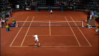 Tennis World Tour - Gameplay Highlights (Release Version)