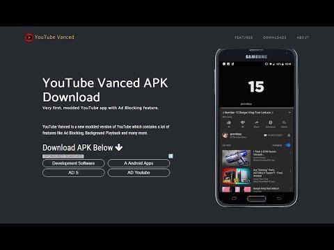 Youtube Vanced - App By Team Vanced [English]