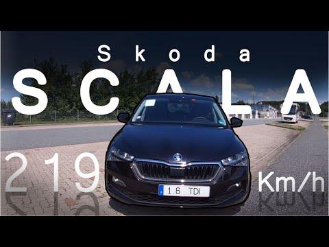 Skoda Scala - Frisches Design bei Skoda -  Test, Review und Fahrbericht / Testdrive