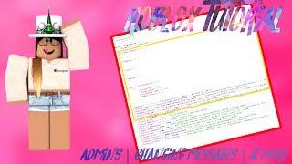 Esercitazione di ROBLOX: BAE 2 0 - Admins - Messaggi del server