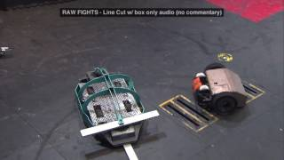 ChromeFly vs. Bucktooth Burl: BattleBots Season 2 Qualifying Round