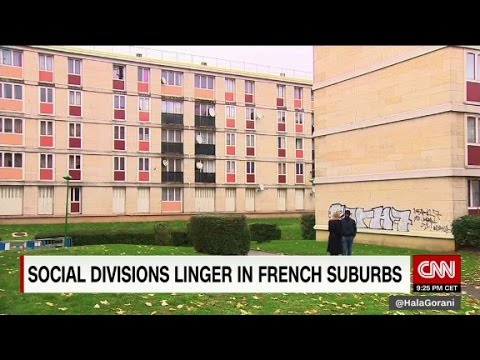 Social divisions linger in French suburbs