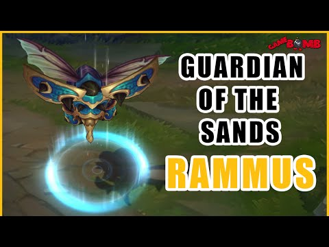 Guardian of the Sands Rammus Skin Spotlight - League of Legends [PBE Spotlight]