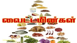 வைட்டமின்கள் - vitamins - Human Body System and Function