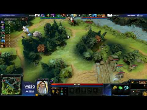 PAPION V vs. PARAGON ESPORTS, game 1, Northern Europe + Post CIS Qualifier