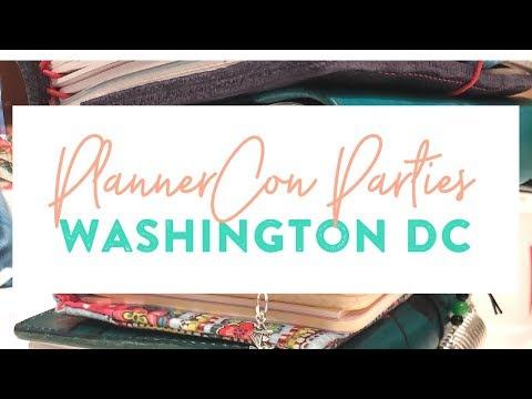 VLOG: PlannerCon Parties, Washington DC