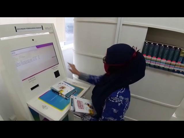 Prosedur Sirkulasi Buku Layanan Anak dan Koleksi Monograf Terbuka di Gedung Layanan Perpusnas RI
