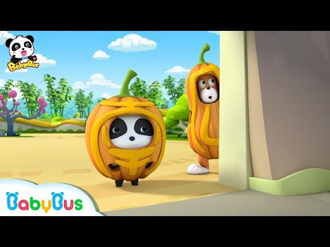 Baby Panda Wears Pumpkin Costume | Funny Baby Video | Kids Cartoon | Kids Videos | BabyBus