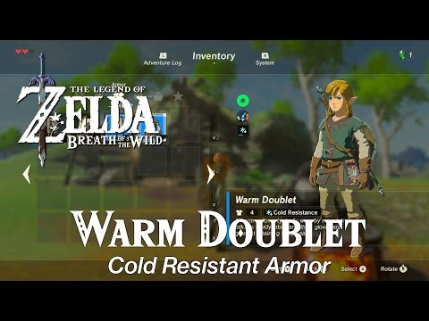Zelda Breath of the Wild • Spicy Meat and Seafood Fry Dish • Warm Doublet
