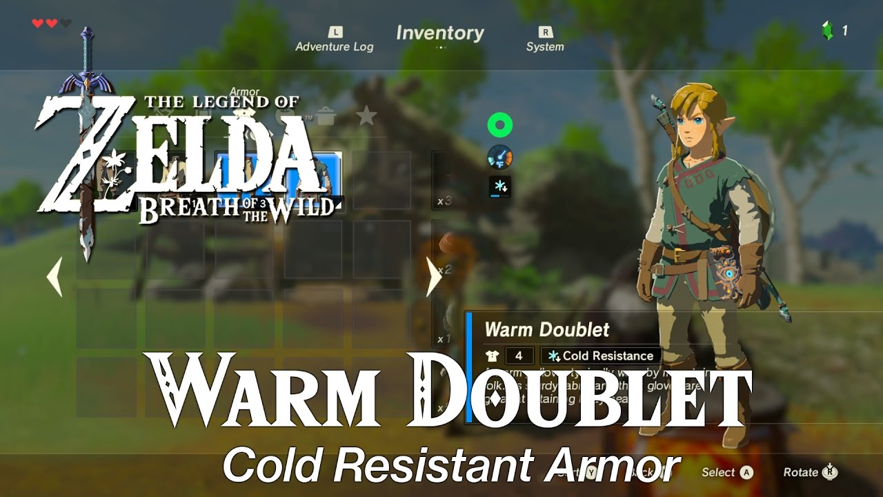 Zelda Breath Of The Wild Spicy Meat And Seafood Fry Dish Warm Doublet Youtube