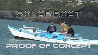 EP1 Proof of Concept - Solar Boat