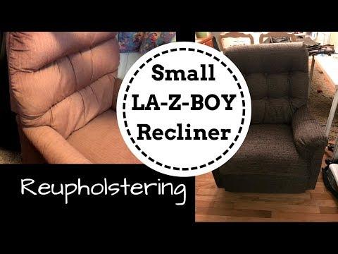 Reupholstering a Small LA-Z-BOY Recliner