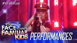 Your Face Sounds Familiar Kids: Elha Nympha as Beyoncé