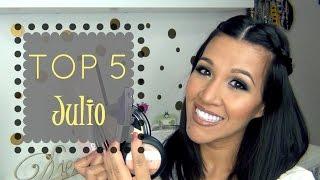 Top 5  Favoritos de Julio  + SORTEO (Cerrado) Internacional ♥  BeautybyCatBlog