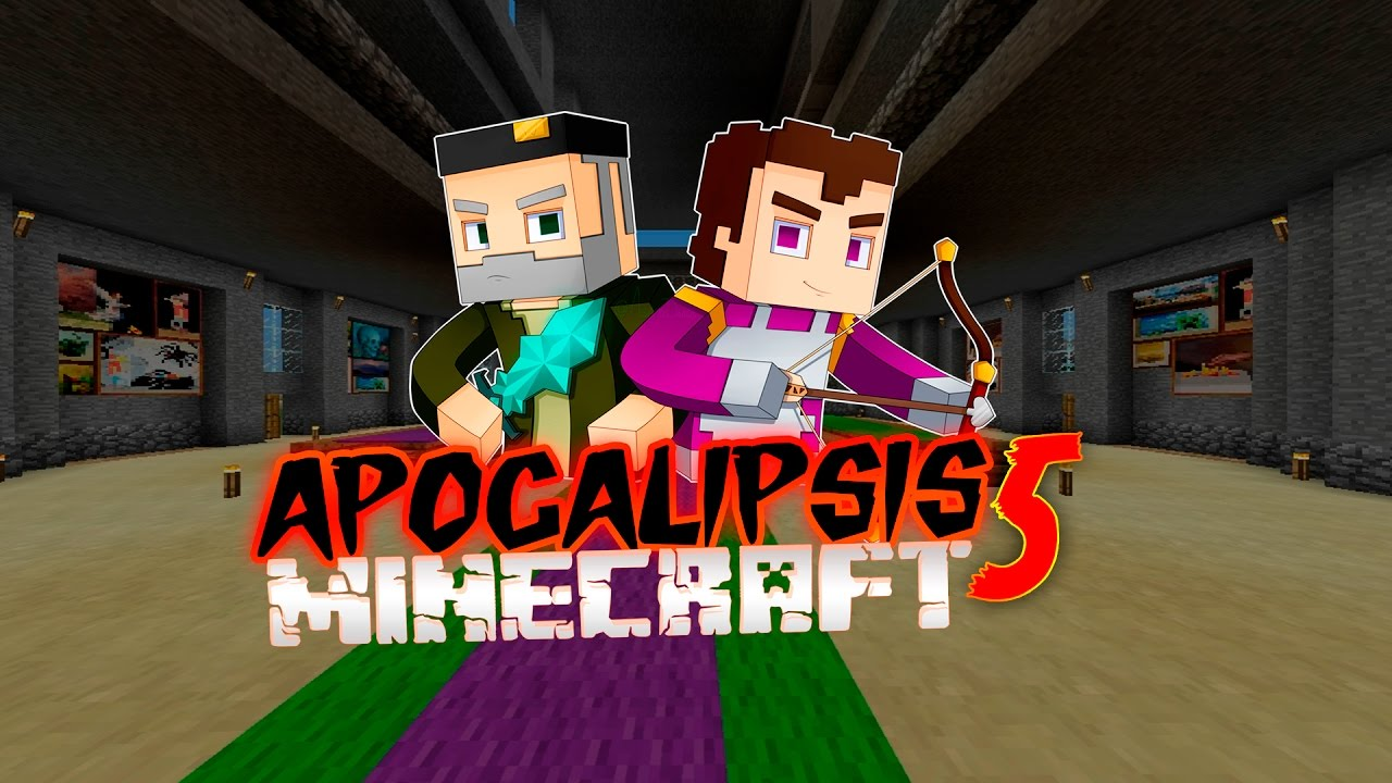 Apocalipsis Minecraft 5 Mapa Descarga Youtube